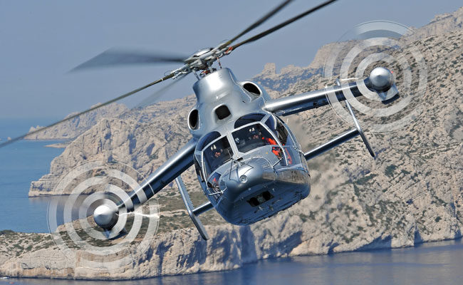 Airbus hybrid helicopter