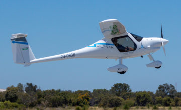 Image of world's-first-certified-electric-aircraft-alpha-electro