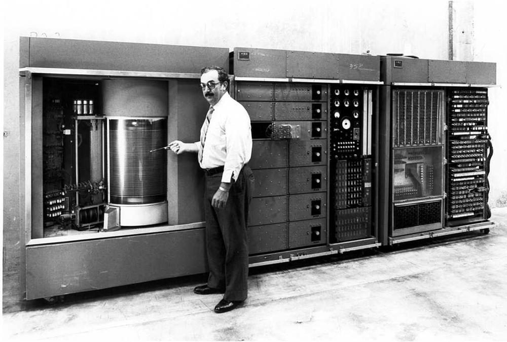 IBM 350 RAMAC Y2K millennium bug explained