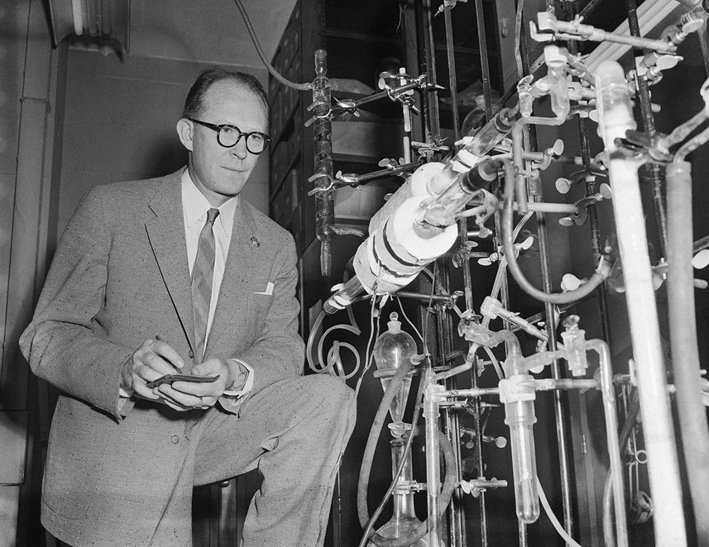Willard Frank Libby proposed radiocarbon dating