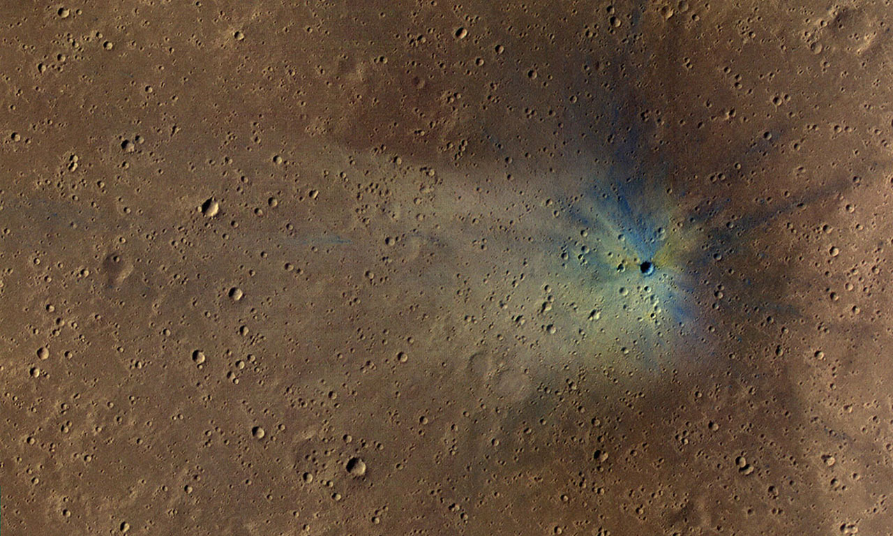 Some interesting facts about impac craters on Mars surface