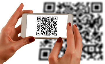 Scanning a QR code using a smartphone for how do QR codes work